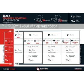 Rotor BSA30 Road/MTB Tretlager 68/73mm Stahl